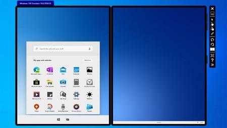 Así puedes probar Windows 10X con el nuevo Microsoft Emulator