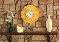 Recicladecoración: un reloj hecho con cucharas de plástico