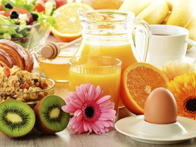 Algunos de mis desayunos habituales