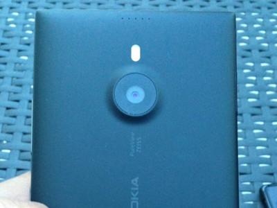 Nokia Lumia 1520, primeras imágenes en vivo