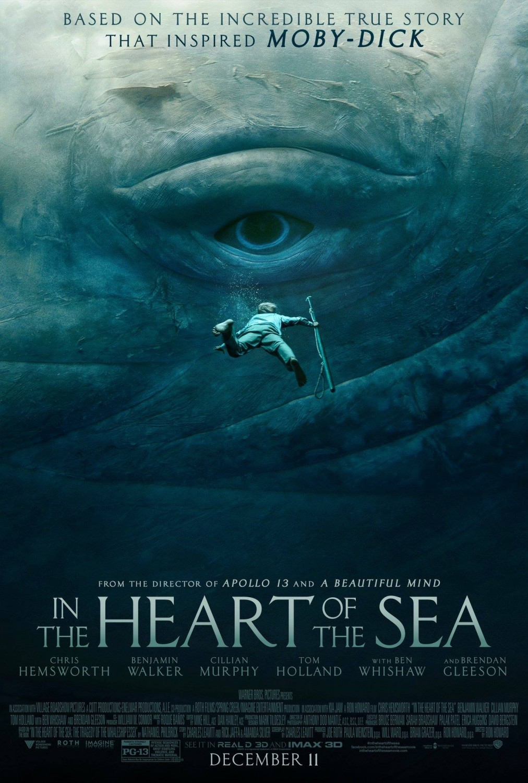 Carteles de 'En el Corazón del Mar'