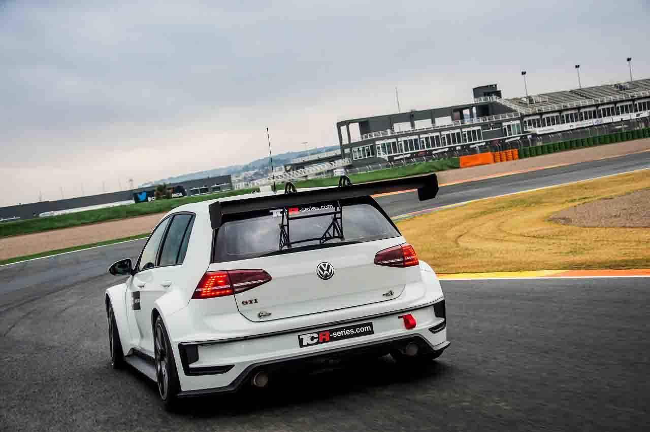 Foto de Volkswagen Golf GTI TCR (8/10)