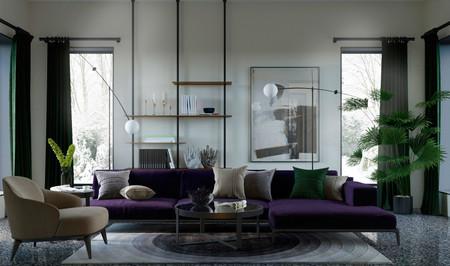 Una casa de invierno con tres ambientes admirables que bien valen para un anuncio publicitario