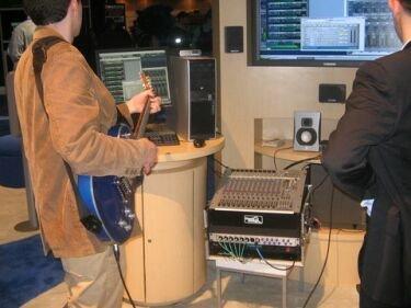 Guitarra con conexión Ethernet