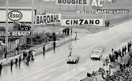 Llegada Le Mans 1966 Ford GT40