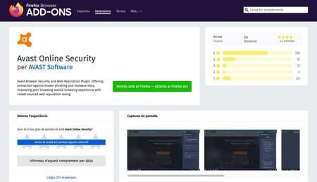 Window Y Avast Online Security Obteniu Aquesta Extensio Per Al Firefox Ca