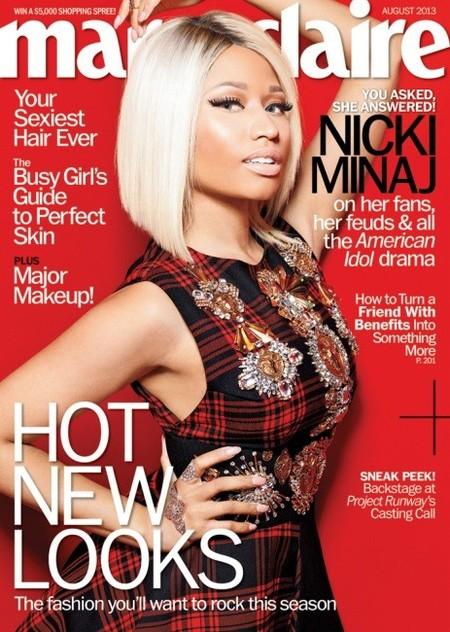 Nicki Minaj, a medio camino entre señora y muñeca de cera