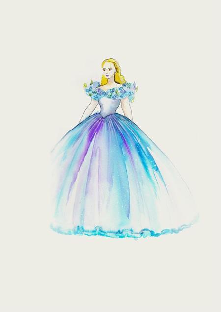 Cinderella Costume Signage Cinderella