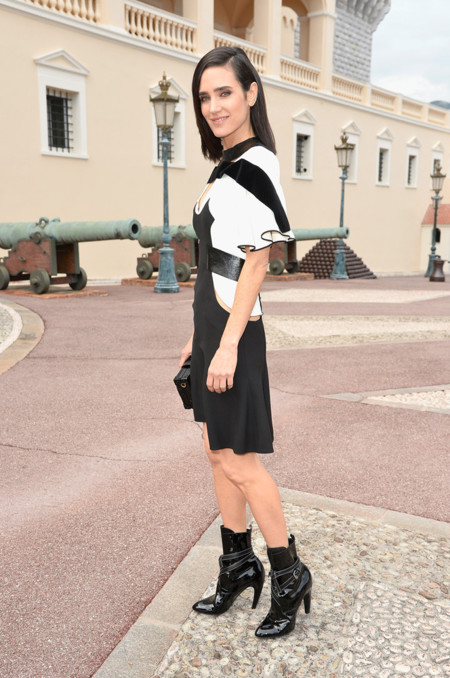 Jennifer Connelly en el desfile de Louis Vuitton