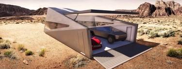 Cybunker es el nuevo y revolucionario garage desarrollado para tu Tesla Cybertruck