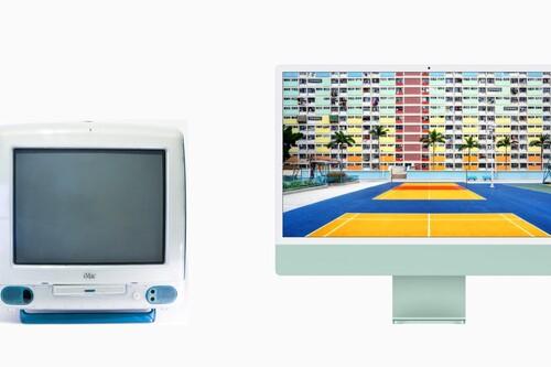 Los 23 años de evolución del iMac G3 hasta el nuevo iMac 2021