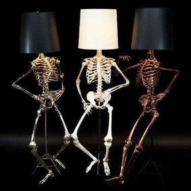 Las lámparas más terroríficas para la noche de Halloween, ¿te atreves?