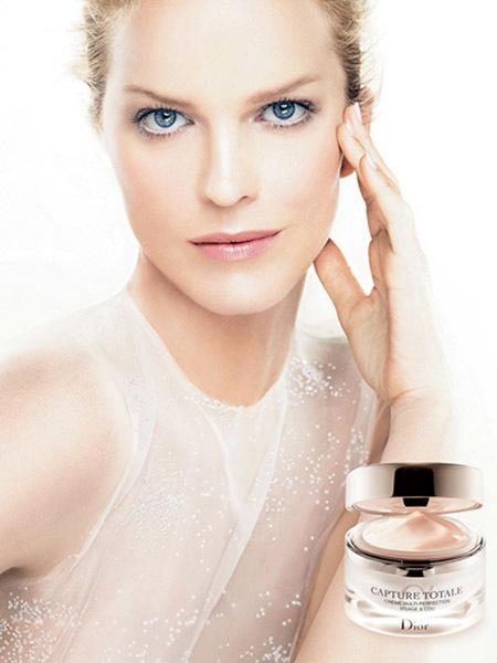Eva Herzigova para Dior Capture Totale