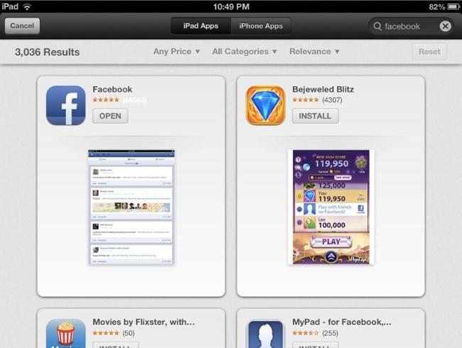 chomp app store apple búsquedas aplicaciones