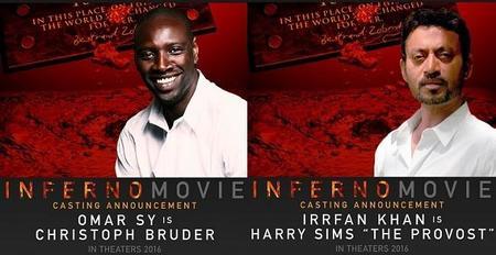'Inferno', la nueva aventura de Robert Langdon amplía su reparto