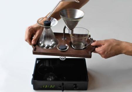 Cafetera despertador