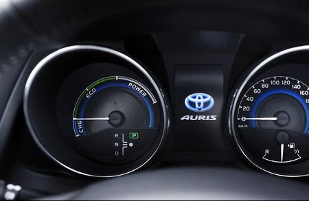 Señalización cuadro cambio automático Toyota Auris Full Hybrid