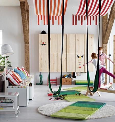 En el nuevo catálogo de IKEA 2015 destaca la sección para peques