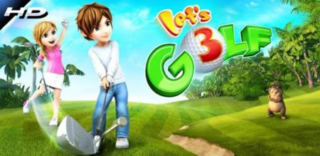 Let's Golf! 3 HD ya está disponible en Android Market... ¡gratis!