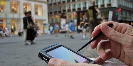 GPS on PDA