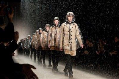 Burberry Prorsum Otoño-Invieno 2011/2012 en la Semana de la Moda de Milán