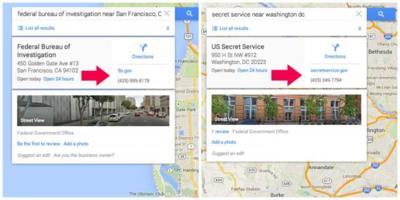 Cómo un fallo en la verificación de Google Maps convirtió dos cajeros en oficinas del FBI
