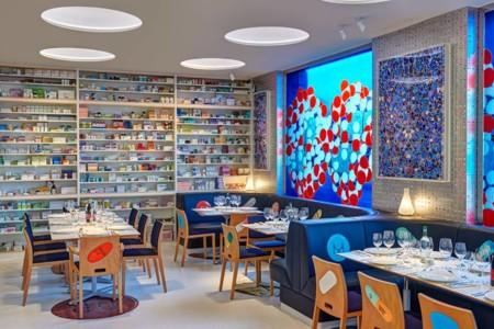 Restaurantes diferentes: Un restaurante que parece una farmacia