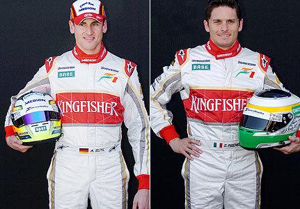 Force India mantendrá su pareja de pilotos para 2009