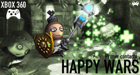 'Happy Wars' para Xbox 360: primer contacto