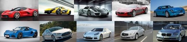 Los 10 coches más rápidos del mundo... Híbridos y eléctricos