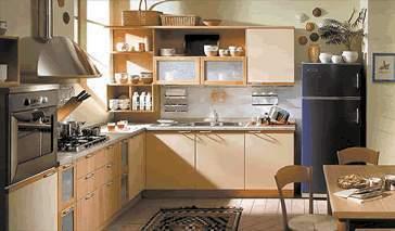 Distribucin de la cocina Cocinas en L