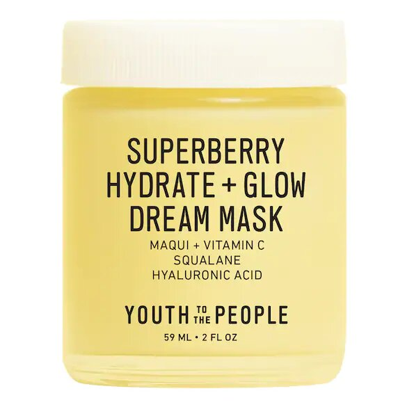 Superberry Hydrate + Glow Dream Mask YouthTo The People
