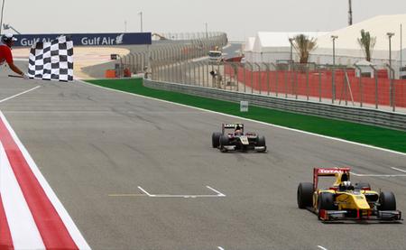 Llegada Bahréin 2012 GP2 Carrera 2