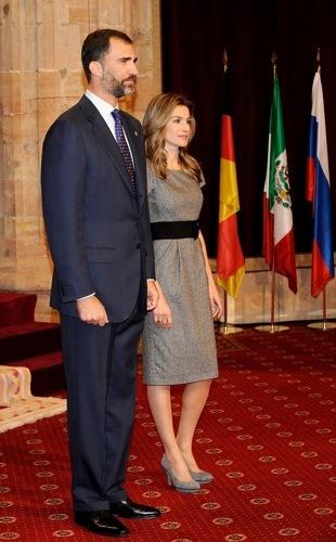 Foto de La Princesa Letizia en los Premios Príncipes de Asturias (1/10)