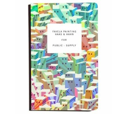 Los cuadernos de Favela Painting, cien por cien solidarios