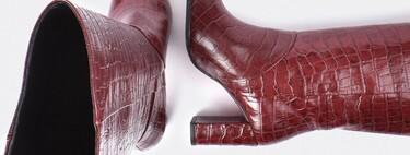 21 botas altas de color para marcar la diferencia de un look en invierno