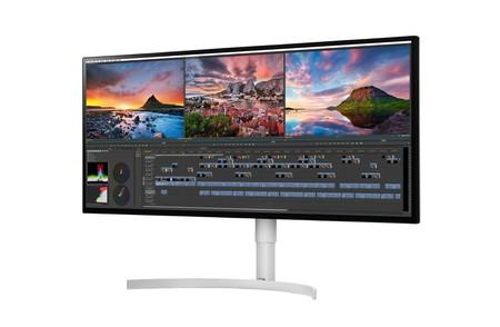 LG ya enseña en el CES 2018 de Las Vegas su nuevo monitor 5K con certificado Display HDR600