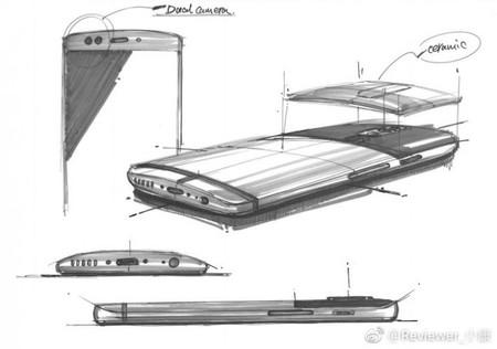 OnePlus 5 bocetos