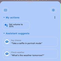 Asistente de Google de colores: cambiaría de color según el fondo de pantalla