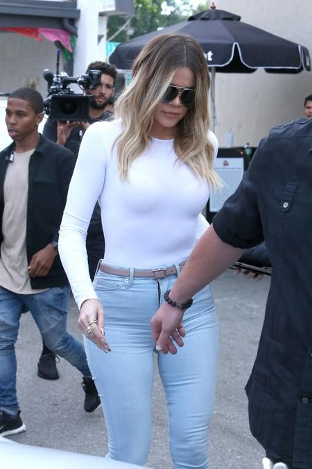khloe kardashian look