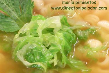 Receta de Sopa de verduras con lechuga