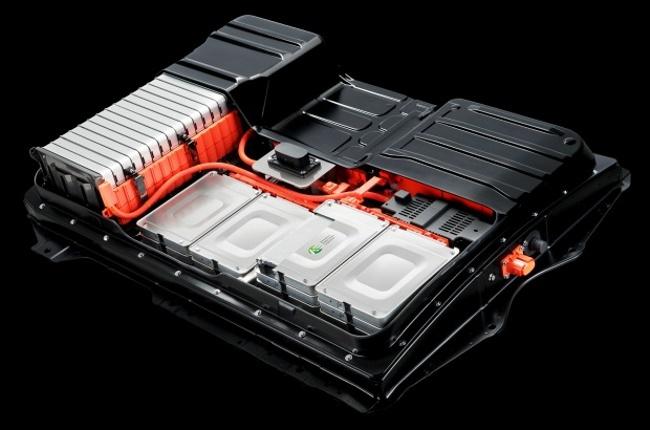Baterías de iones de litio del Nissan LEAF