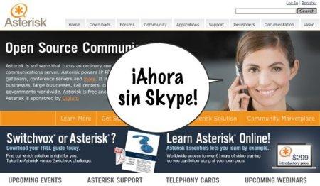 Skype dejará de ofrecer su servicio en Asterisk en julio, ¿empiezan las consecuencias de la compra por Microsoft?