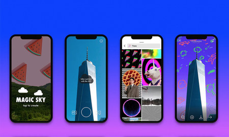 Cambia el cielo de tus fotografías por GIFs o vídeos gracias a esta app gratuita para iOS