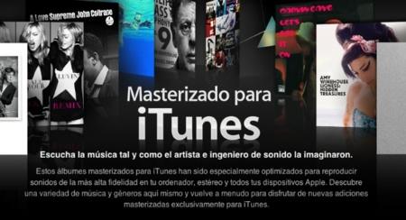 Masterizado para iTunes: Apple quiere vender su música a la