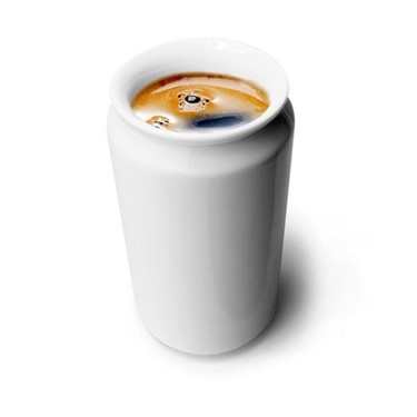 ¿Taza o lata de cerámica?