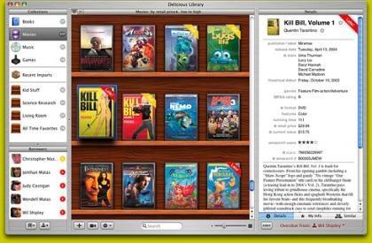 Algunos detalles de la próxima versión de Delicious Library