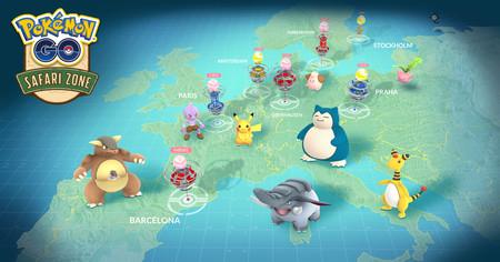 Barcelona recibirá uno de los siete eventos de Pokémon GO Safari Zone celebrados en Europa