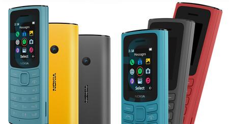 Nuevos Nokia 105 4G y Nokia 110 4G: el retorno de dos clásicos que ahora traen conectividad LTE