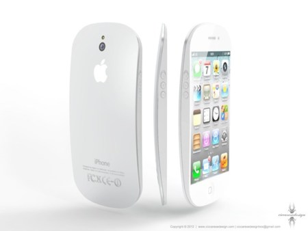 iPhone 5 Concept, un mockup con un llamativo diseño inspirado en el Magic Mouse